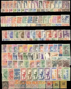 26132 - 1890 - 1950 FRENCH COLONIES  Senegal, Guadeloupe, Pobřeží