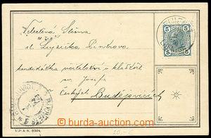 26166 - 1905 reklamní lístek Vydrova žitná káva, dívka s kávo