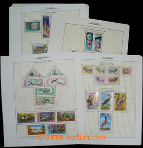 26231 - 1958 - 89 MONGOLIA  collection on/for 38 unbound sheets, c.v