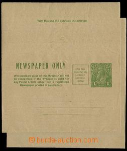 26286 - 1900 2 ks celinových novinových pásek s přitištěnou zn