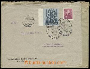 26308 - 1938 2 ks firemních dopisů vyfr. maďarskými zn. s raz. B