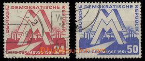 26333 - 1951 Mi.282 - 283 with CDS, c.v.. 60€