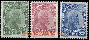 26341 - 1912 Mi.1-3x, c.v.. 170€