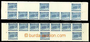 26345 - 1940 Krajinky 10 K Praha, Pof.48, levý a pravý okraj archu