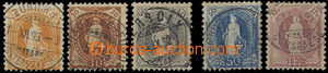 26354 - 1882 Stojící Helvetia  MI.58 - 63XC, pěkné kusy, kat. 40 MiM
