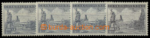 26368 - 1953 Prague Pof.742, comp. 4 pcs of shades up to grey-black,