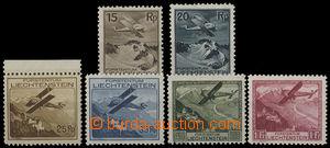 26380 - 1930 Airmail Mi.108 - 113, c.v.. 460€