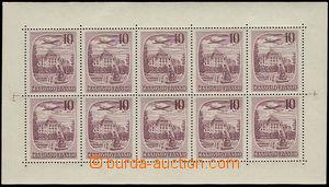 26382 - 1951 Pof.L34PL, Czechoslovak Spas 10 Koruna, c.v.. 2500 CZK