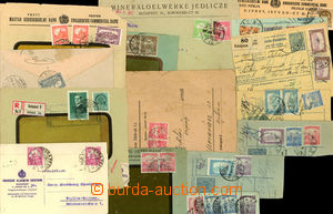 26392 - 1917 - 1941 HUNGARY - HUNGARY, comp. 15 pcs of entires, cut-