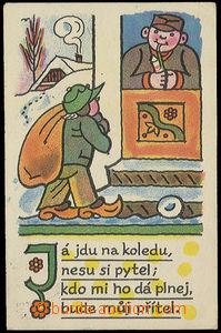 26410 - 1930 LADA Joseph (1887–1957), Christmas with koledou, smal