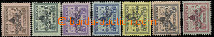 26440 - 1939 přetisková Sede Vacante, Mi.73-79, kat. 150€