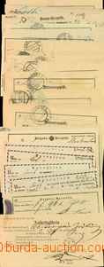 26528 - 1827 - 1911 sestava 27 ks recepisů, obsahuje mj. 5x Brünn