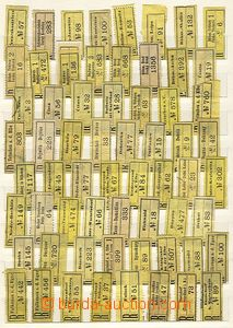 26625 - 1900 REGISTERED LABELS  Austria-Hungary  collection 744  pcs