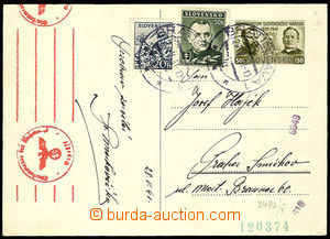 26674 - 1941 CDV10/2 (Memorandum) zaslaná do Protektorátu, dofr. n