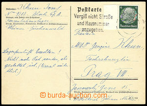 26681 - 1940 C.C. BUCHENWALD  franked with. card from C.C. to Prague