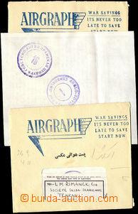 26690 - 1943 2ks Airgraphu zaslaných do Teheránu, britská a rusk�