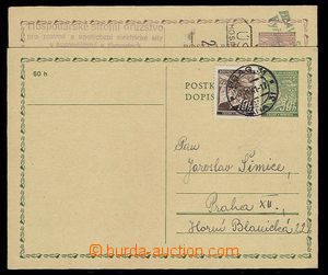 26733 - 1941-42 CDV1 with uprated by. 10h, CDS Prague 31/ 6.III.41 a