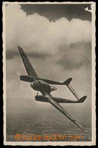 26743 - 1941 photo postcard letícího aircraft Focke Wulf FW 189 dv
