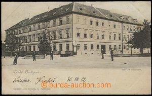 26753 - 1902 České Budějovice, Ústav for deaf-and-dumb,  B/W, editio