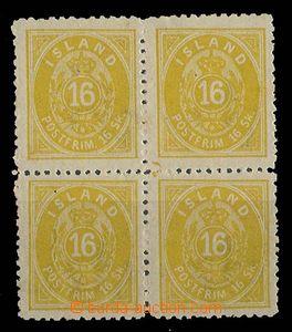 26770 - 1873 Mi.5B ve 4-bloku, vzadu lehké stopy po slepení, dobré c