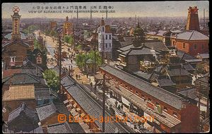 26810 - 1919 JAPAN / Wiew of Kuramaye (Tokio?). color view of part t
