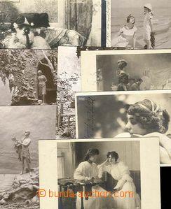 26814 - 1902-06 comp. 8 pcs of art cards, mostly Salon 1906 Noyer, 6