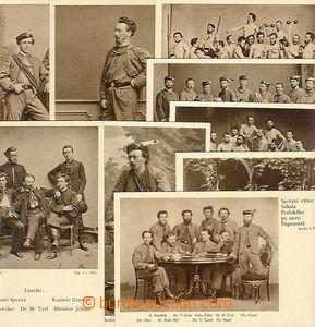 26815 - 1932 Sokol, 9ks pohlednic ke stým narozenám dr.M.Tyrše, n