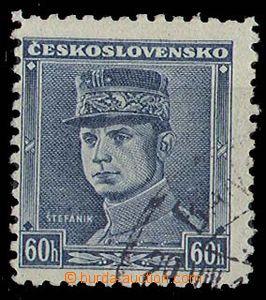 26874 - 1939 Alb.1, Blue Štefánik (Pof.0351), according to segment