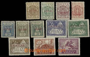 26880 - 1919 Polish post in Levant, Mi.1-12, reprints, more/larger h