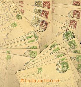 26889 - 1922-25 CZECHOSLOVAKIA 1918-39  selection 45 pcs of PC Liber