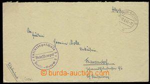 27004 - 1940 dopis  FP  s DR Berlin - Gatow 2/ 12.8.40, kulaté raz�