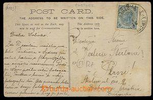 27020 - 1906 S.M.S. PANTHER/ 31.1.06, incomplete circular pmk K.u.K.