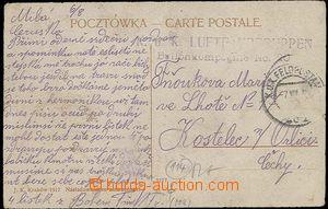 27069 - 1915? K.u.K. LUFTFAHRTRUPPEN/ Ballonkompagnie No.20, neúpln
