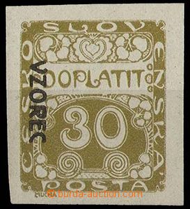 27109 - 1919 Pof.DL6vz, overprint VZOREC L, wide margins, c.v.. 250C