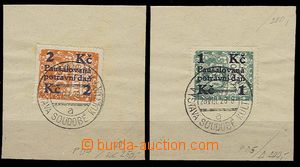 27111 - 1928 Pof.PD4-5, stamps nepoužity for collection tax,  mount