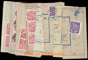 27140 - 1920-21 CZECHOSLOVAKIA 1918-39  selection 20 pcs of parcel d