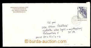 27187 - 1997 CSO3b, služební obálka s přítiskem MDPT SR, DR Bra