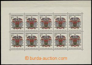 27224 - 1968 Pof.PL1718, symptoms folds in upper margin, stamps with