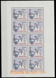 27264 - 1972 Pof.PL2001-3, mint never hinged, c.v.. 500CZK