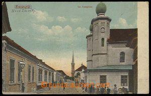 27292 - 1919 NOVÉ ZÁMKY (Érsekújvár) - synagogue, sent by FP 14