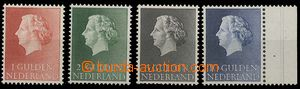 27379 - 1954-57 Mi.647-8, 661, 706, kr. Juliána, mint never hinged,