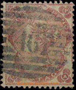 27383 - 1862 Mi.18, karmínová 3p, malá písmena AP/PA, malé prod