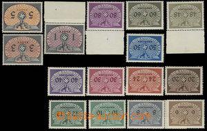 27432 - 1940 GENERALGOUVERNEMENT  doplatní zn. Mi.1-15, svěží, k
