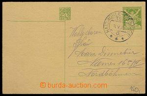 27436 - 1925 VLP č.386a HAIDMÜHLE - ČÍČENICE/ 14.V.25, pěkný