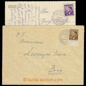 27441 - 1942 VLP č.177a  KYŠPERK - ÚSTÍ NAD ORLICÍ/ 3.XII.42, o