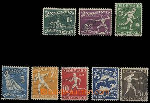 27451 - 1928 Mi.205-212, IX.olympiáda, good condition, c.v.. 50€