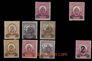 27541 - 1931-32 comp. 9 pcs of stamps to exhaustion- issue from y 19