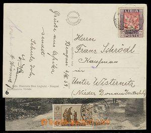 27572 - 1931-39 LIBIA, DR nečit./ 3.III.39, zn. 75 cent., SOMALIA,