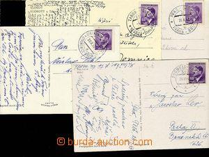 27580 - 1942-44 4ks VLP č.512b BUDWEIS - BRÜNN/ 26.VII.43, VLP č.