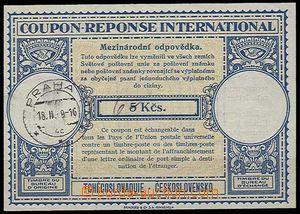 27605 - 1949 CMO9a, český text, přepsaná cena, 1x DR Praha 1/ 18